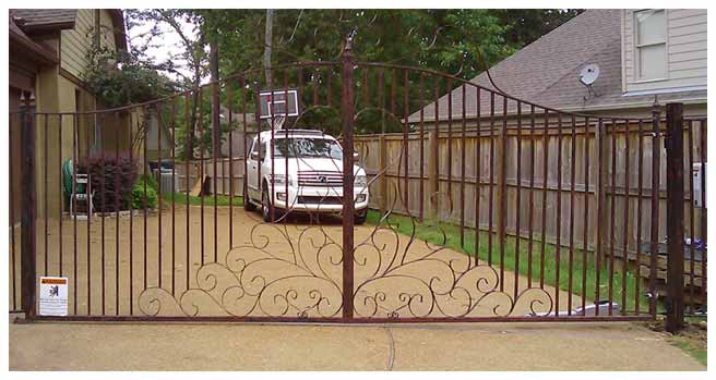 Iron: Gates, Fences, Rails