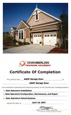 Installation And Repair. At ASAP Garage Door ...